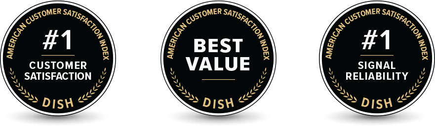 DISH Ranked #1 in Customer Satisfaction - HD Satellite - DISH Authorized Retailer