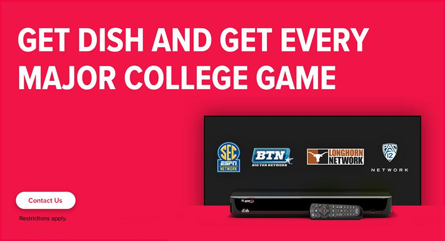 Sports TV Package - College Sports - Boise, Idaho - HD Satellite - DISH Authorized Retailer